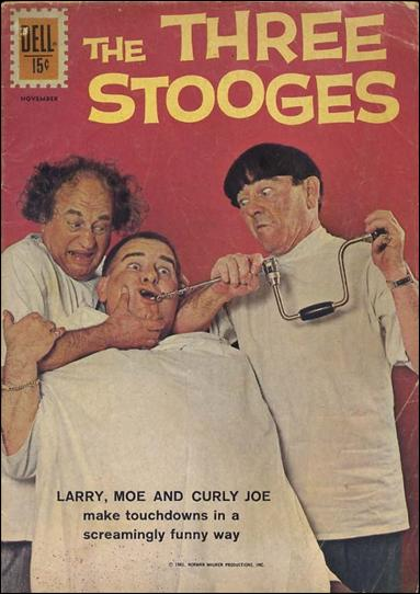 Three Stooges (1960) 6-A by Gold Key
