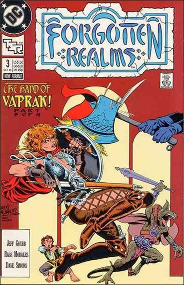 Forgotten Realms 3-A by DC