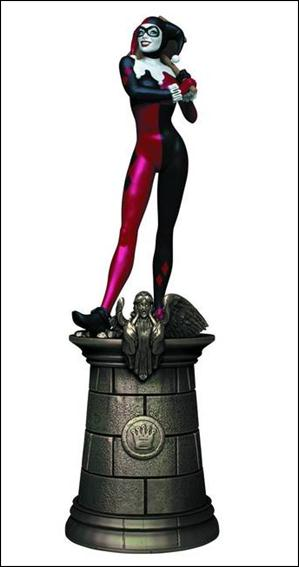 DC Chess Collection (UK) Harley Quinn (Black Queen) by Eaglemoss Publications