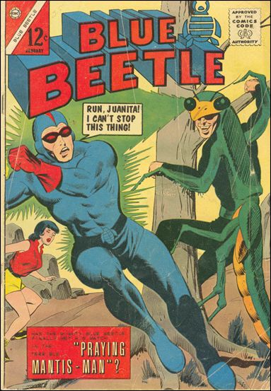 Blue Beetle (1964) 4-A by Charlton