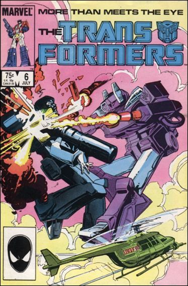 Transformers (1984) 6-A by Marvel