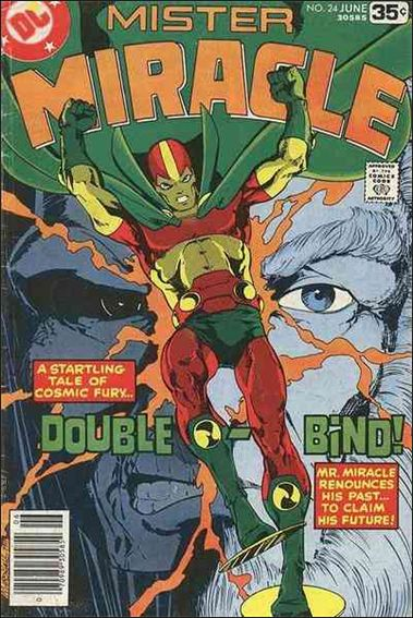 Mister Miracle (1971) 24-A by DC