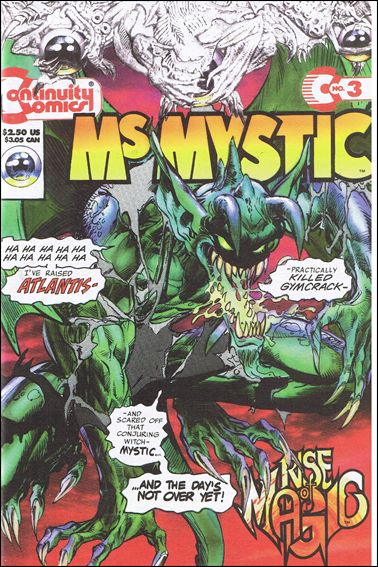 Ms. Mystic (1993) 3-A by Continuity Comics
