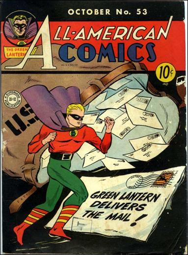 All-American Comics (1939) 53-A by DC