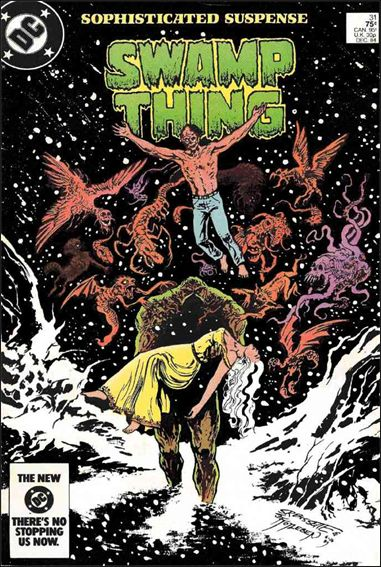 Saga of the Swamp Thing 31-A by DC