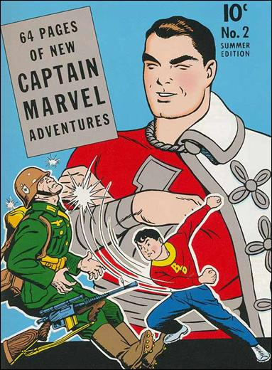 Captain Marvel Adventures 2-A by Fawcett
