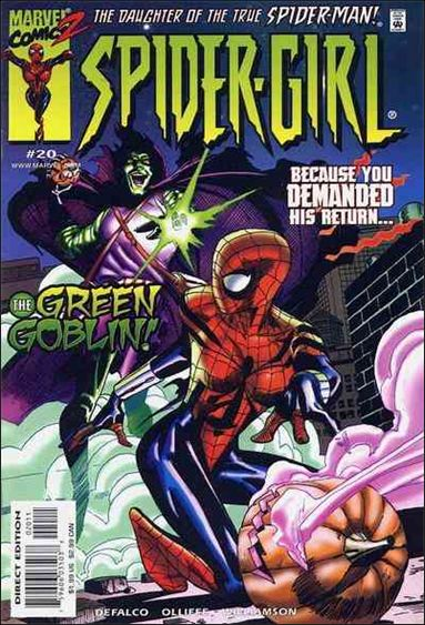 Spider-Girl (1998) 20-A by Marvel