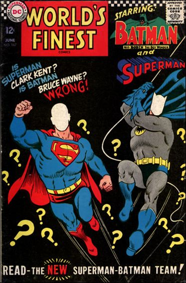 World's Finest Comics 167-A by DC