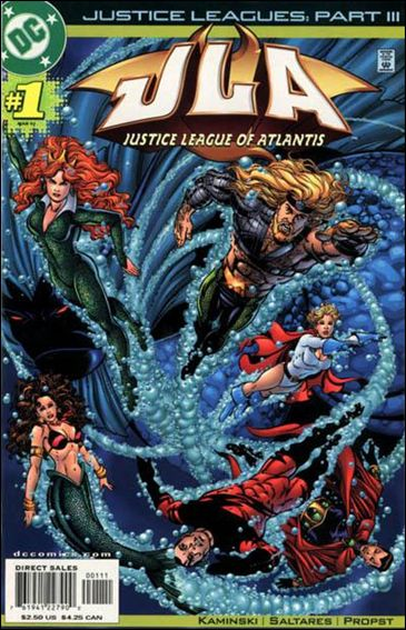 Justice Leagues: Justice League of Atlantis 1-A by DC