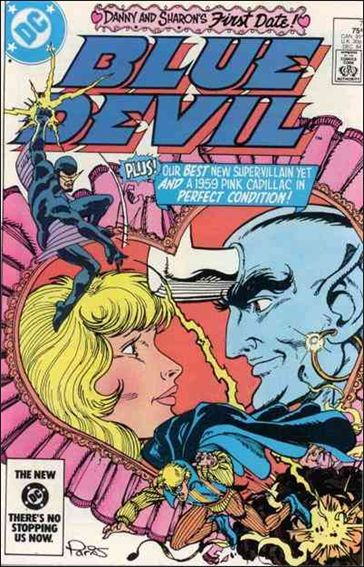 Blue Devil 7-A by DC