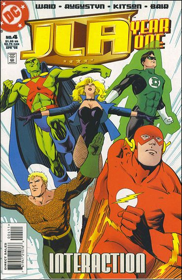 JLA: Year One 4-A by DC