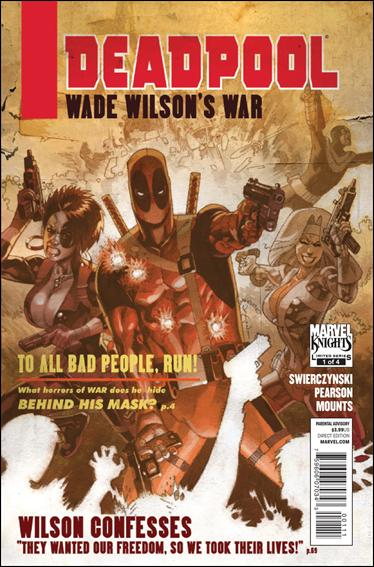 Deadpool: Wade Wilson's War 1-A by Marvel