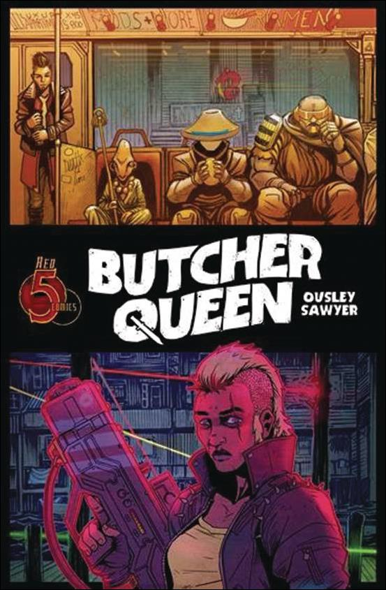 Butcher Queen nn-A by Red 5 Comics
