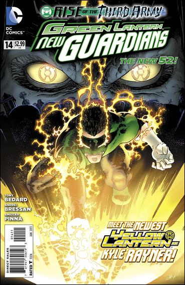 Green Lantern: New Guardians  14-A by DC