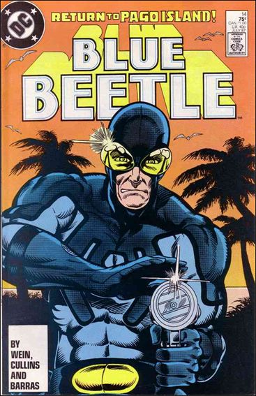 Blue Beetle (1986) 14-A by DC