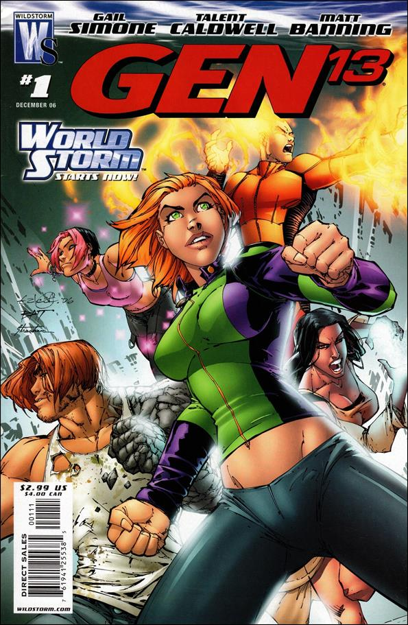 Gen13 (2006) 1-A by WildStorm