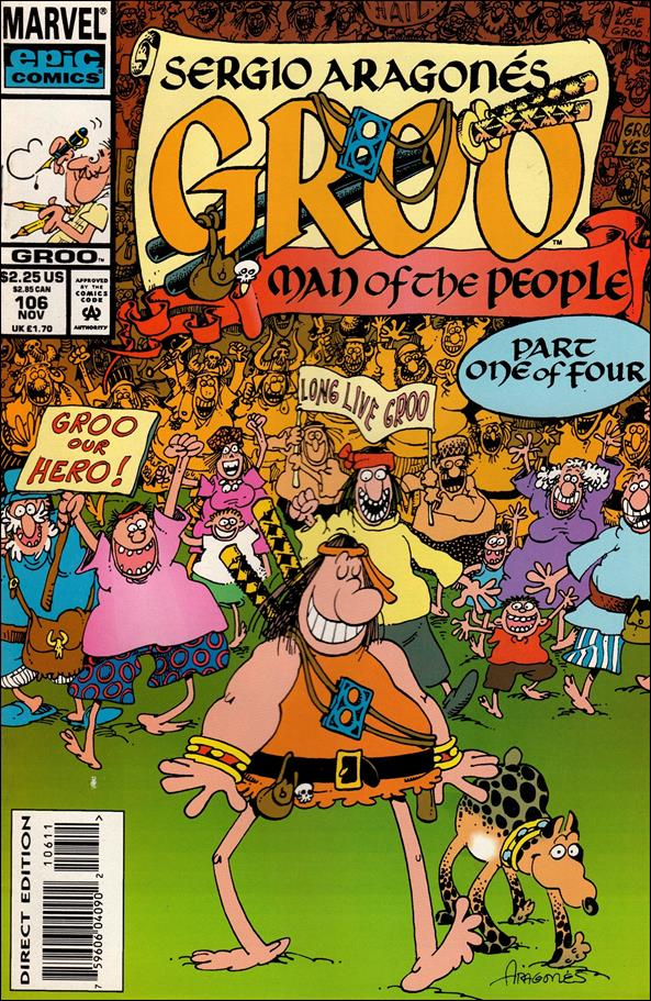 Sergio Aragones Groo the Wanderer 106-A by Epic