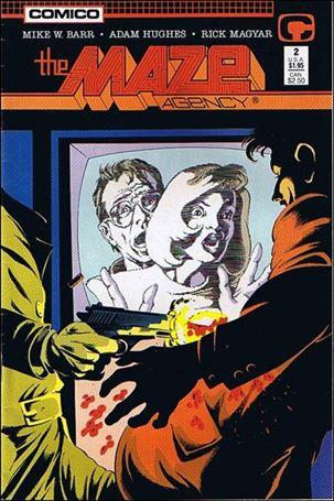 Maze Agency (1988) 2-A