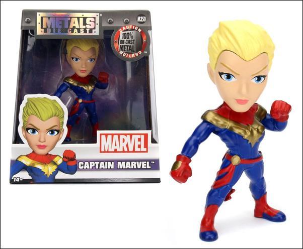 Metals Die Cast (Marvel)  4 inch Captain Marvel by Jada