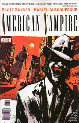 American Vampire 6-A by Vertigo