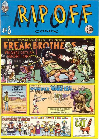 Rip Off Comix 8-A by Rip Off Press