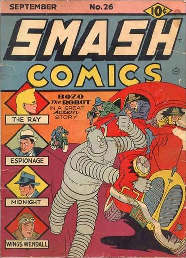 Smash Comics (1939) 26-A by Quality