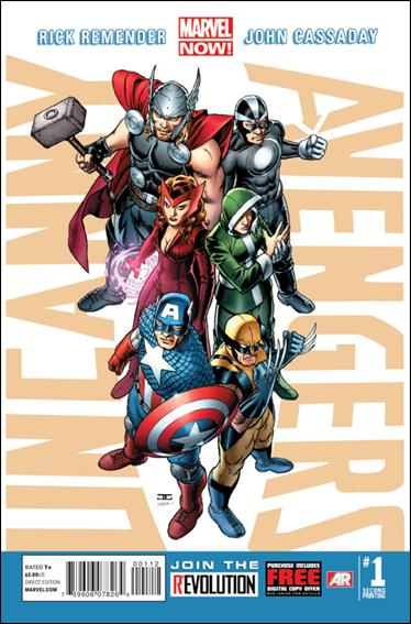 Uncanny Avengers 1-U by Marvel