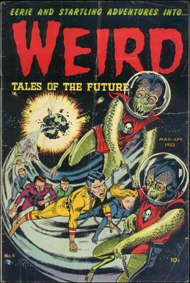 Weird Tales of the Future 6-A by Aragon Publishing