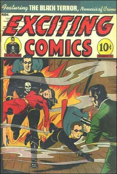 Exciting Comics (1940) 14-A by Better Publications