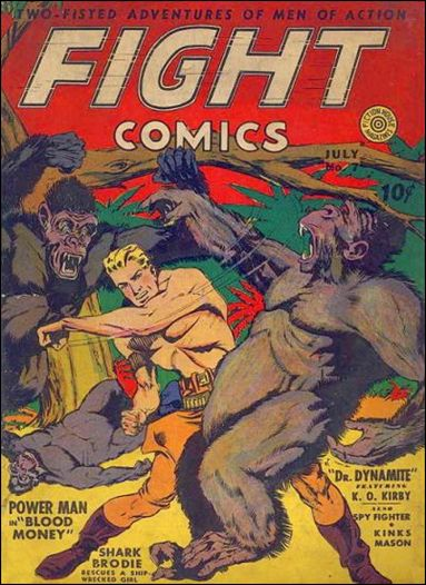 Fight Comics 7-A by Fiction House Magazines