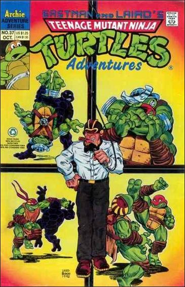 Teenage Mutant Ninja Turtles Adventures (1989) 37-A by Archie