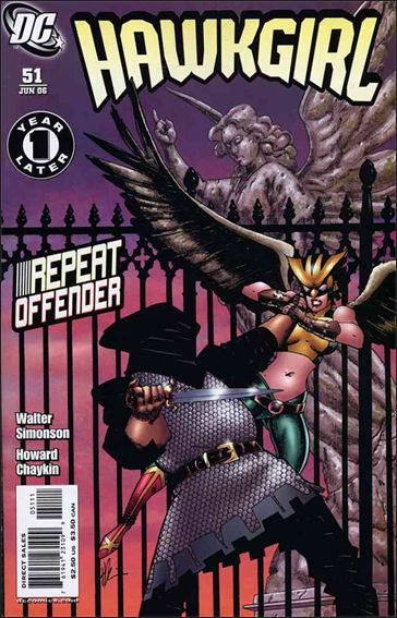 Hawkgirl 51-A by DC