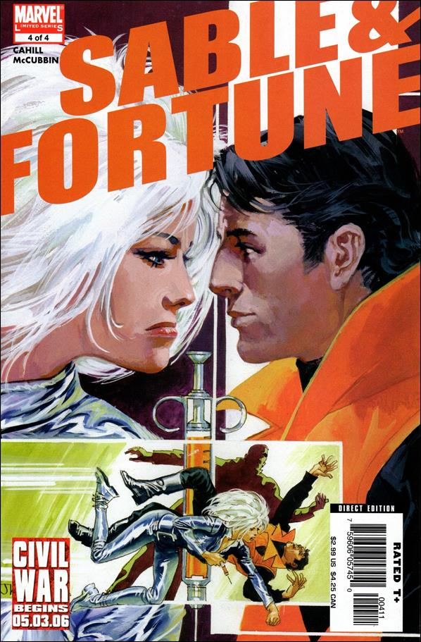 Sable & Fortune 4-A by Marvel