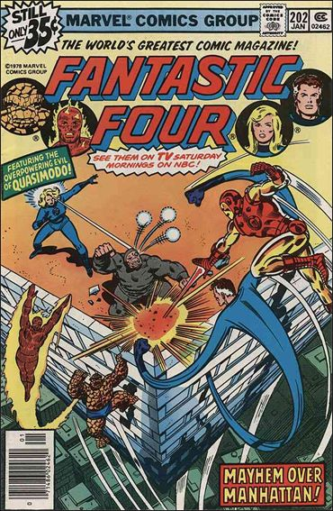 Fantastic Four (1961) 202-A by Marvel