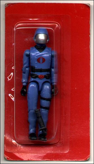 "G.I. Joe: A Real American Hero 3 3/4"" Basic Action Figures Cobra Commander (Helmet) - Mail-Away by Hasbro"