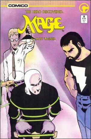 Mage: The Hero Discovered 8-A by Comico