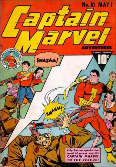 Captain Marvel Adventures 10-A by Fawcett
