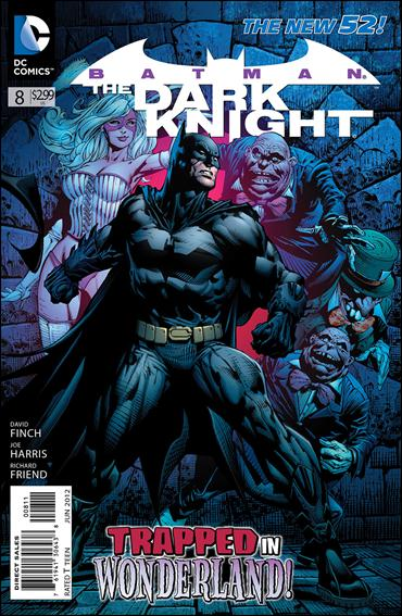 Batman: The Dark Knight (2011/11) 8-A by DC