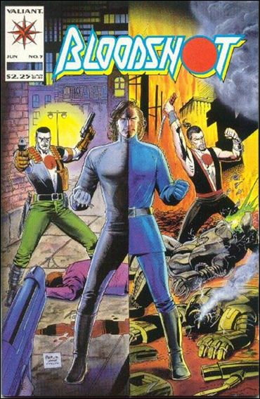 Bloodshot (1993) 5-A by Valiant