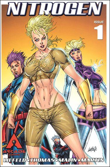 Nitrogen 1-A by Arcade Comics