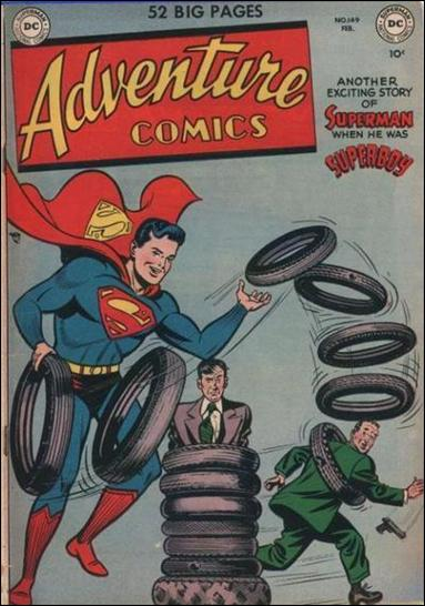 Adventure Comics (1938) 149-A by DC