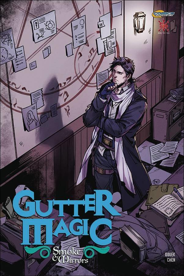 Gutter Magic: Smoke & Mirrors 2-A by Comics Experience