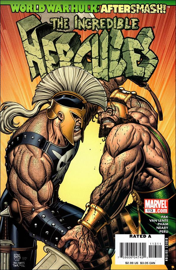 Incredible Hercules 113-A by Marvel