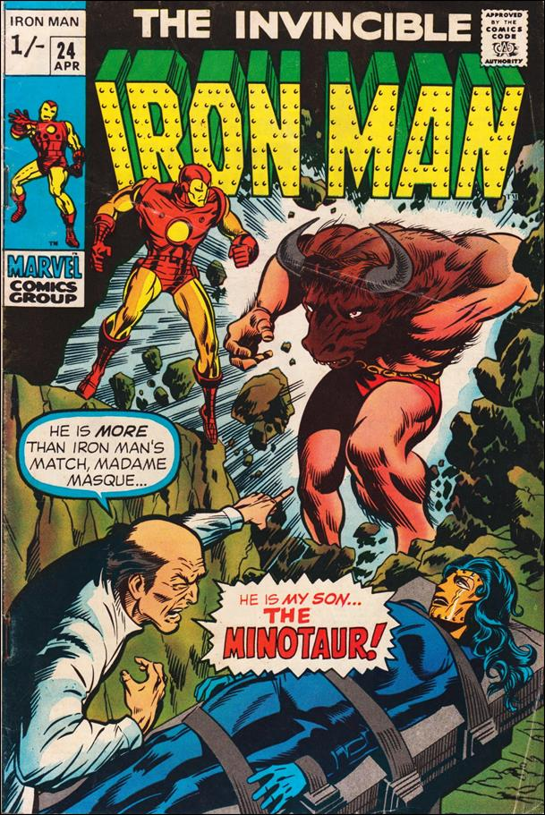 Iron Man (1968) 24-B by Marvel