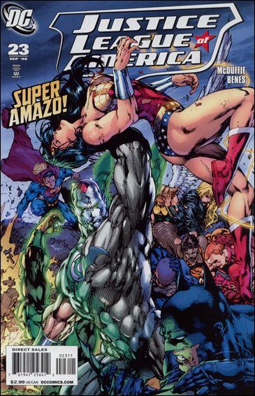 Justice League of America (2006) 23-A by DC