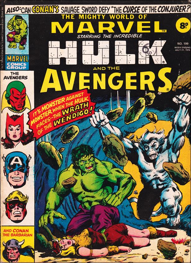 Mighty World of Marvel (UK) (1972) 199-A by Marvel UK