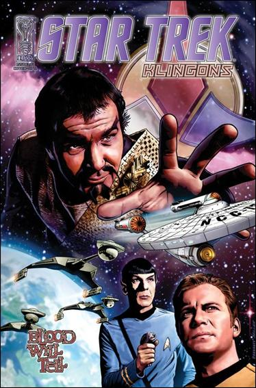 Star Trek: Klingons: Blood Will Tell 1-C by IDW