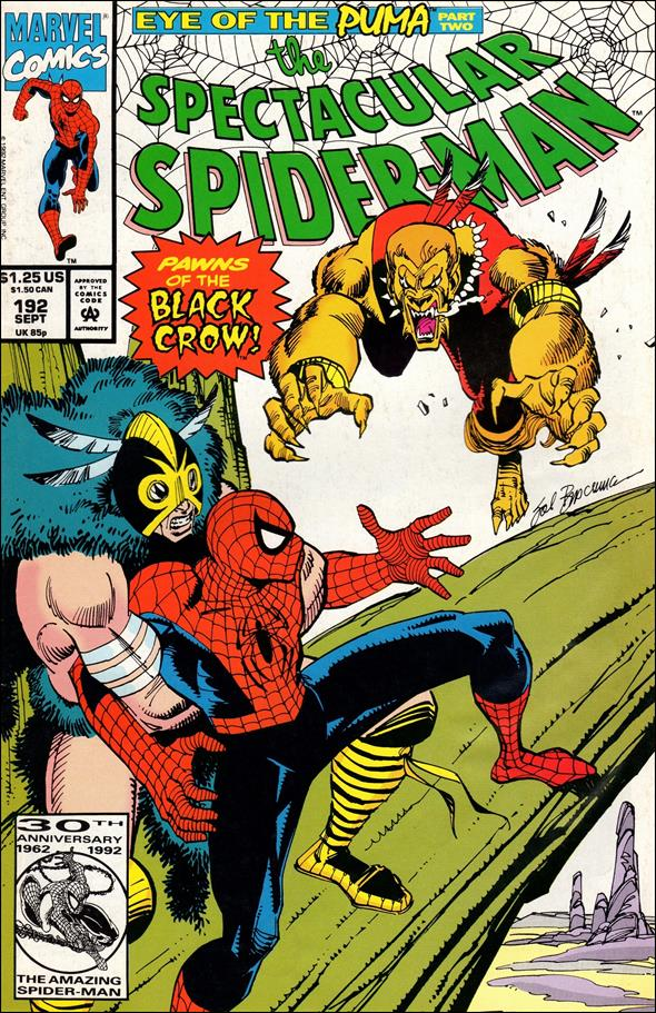 Spectacular Spider-Man (1976) 192-A by Marvel