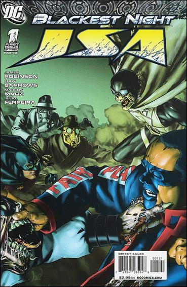 Blackest Night: JSA 1-B by DC