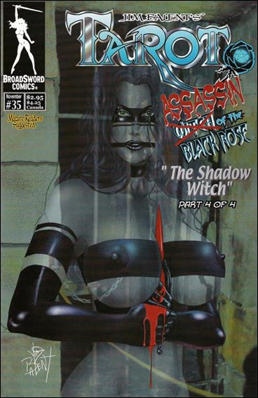 Tarot: Witch of the Black Rose 35-B by BroadSword Comics